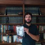 """El escritor Héctor Martínez con su novela """"Los crímenes de Ordesa"""""""